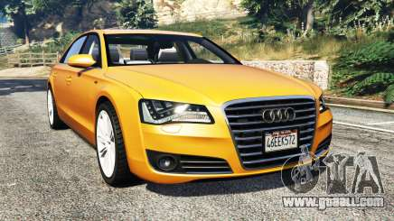 Audi A8 L (D4) 2013 [replace] for GTA 5