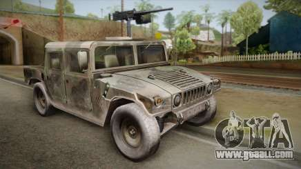 HMMWV Humvee Woodland for GTA San Andreas