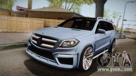 Mercedes-Benz GL63 Brabus for GTA San Andreas