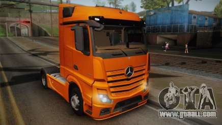 Mercedes-Benz Actros Mp4 4x2 v2.0 Steamspace for GTA San Andreas