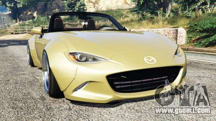 Mazda MX-5 2016 Rocket Bunny v0.1 [replace] for GTA 5