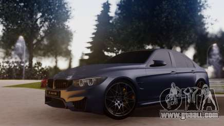 BMW M3 F30 30 Jahre for GTA San Andreas