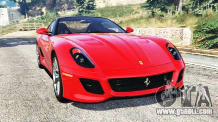 Ferrari 599 GTO [replace] for GTA 5