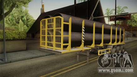 MAZ 99864 Trailer v3 for GTA San Andreas
