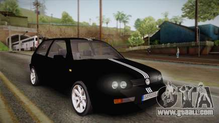 Volkswagen Golf Mk3 Blyatmobile for GTA San Andreas