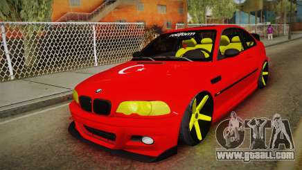 BMW M3 E46 Turkish Stance for GTA San Andreas
