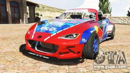 Mazda MX-5 (ND) RADBUL Mad Mike v1.1 [replace] for GTA 5