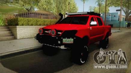 Toyota Hilux 2010 Venezolana de Off Road for GTA San Andreas