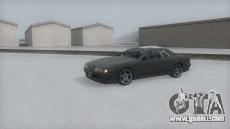 Elegy Winter IVF for GTA San Andreas