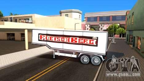 Box Trailer V2 for GTA San Andreas inner view