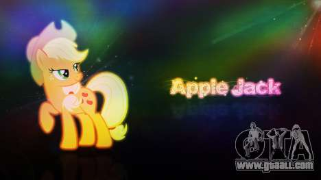 Loading screens of My Little Pony for GTA San Andreas