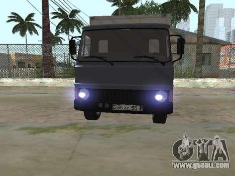 Zastava 640 Armenian for GTA San Andreas side view