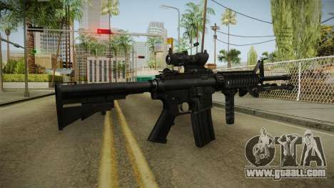 M4A1 ACOG for GTA San Andreas third screenshot