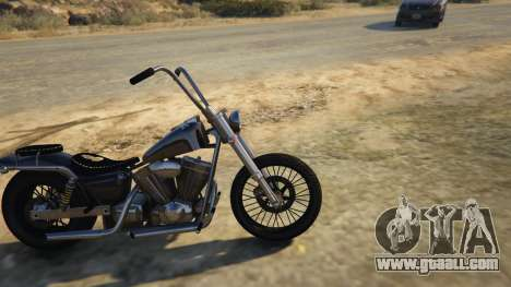 GTA 5 Daemon SOA Harley-Davidson left side view