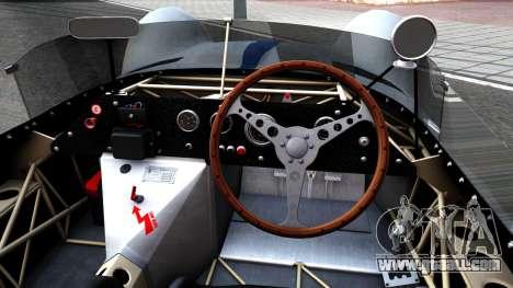 Maserati Tipo 61 for GTA San Andreas inner view