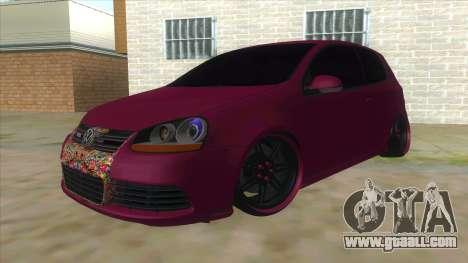 Volkswagen Golf MK for GTA San Andreas