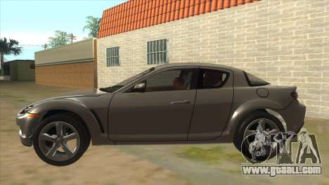 NFS PRO STREET: Mazda RX-8 Tunable for GTA San Andreas left view
