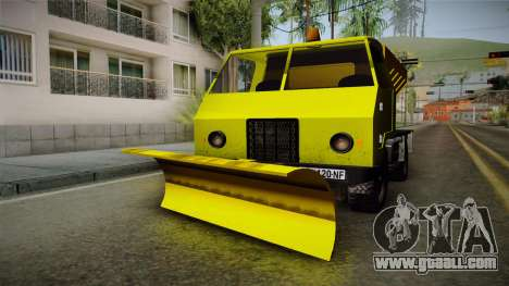 TAM 110 Snow Blower for GTA San Andreas