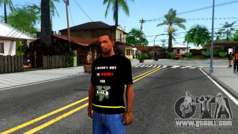 Love To Play San Andreas T-Shirt for GTA San Andreas