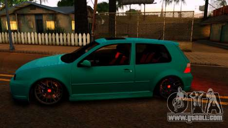 VW Golf 4 for GTA San Andreas left view