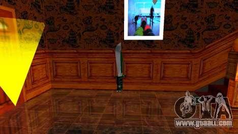 Crocodile Dundee Knife OUTBACK for GTA San Andreas second screenshot