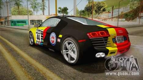 Audi R8 Coupe 4.2 FSI quattro US-Spec v1.0.0 YCH for GTA San Andreas interior