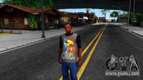 Regular Show T-shirt for GTA San Andreas