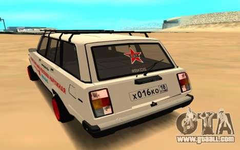 VAZ 2104 BK for GTA San Andreas left view