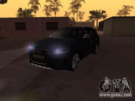 Audi Q7 Armenian for GTA San Andreas