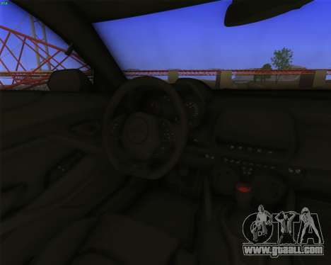 Chevrolet Camaro SS Xtreme for GTA San Andreas back view