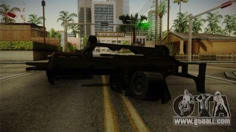 HK G36C v1 for GTA San Andreas second screenshot
