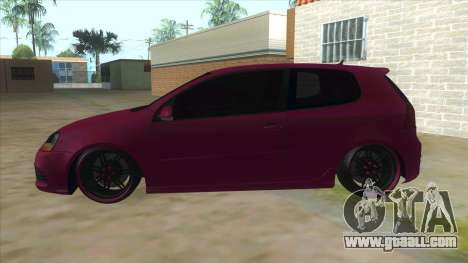 Volkswagen Golf MK for GTA San Andreas left view