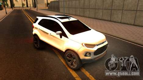 Ford EcoSport 2016 for GTA San Andreas left view
