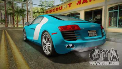 Audi R8 Coupe 4.2 FSI quattro US-Spec v1.0.0 v2 for GTA San Andreas left view