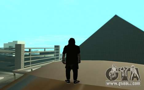 Ballas Gang Member for GTA San Andreas third screenshot