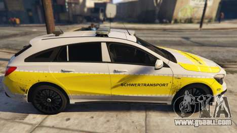 Deutscher Schwertransport Wagen for GTA 5