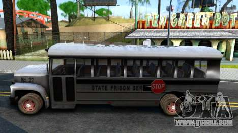 Prison Bus Driver Parallel Lines for GTA San Andreas