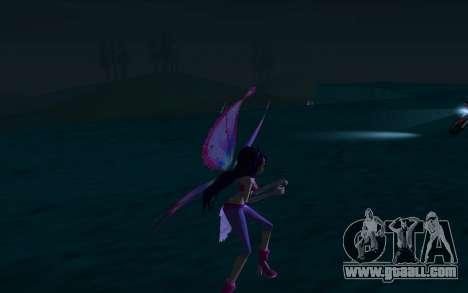 Musa Believix from Winx Club Rockstars for GTA San Andreas forth screenshot