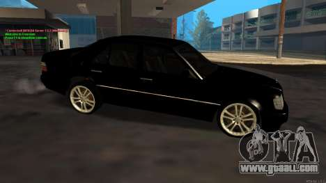 Mercedes-Benz W124 E500 Armenian for GTA San Andreas left view