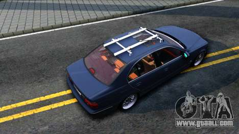 BMW e39 530d for GTA San Andreas back view