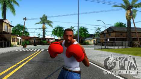 Red Boxing Gloves Team Fortress 2 for GTA San Andreas third screenshot