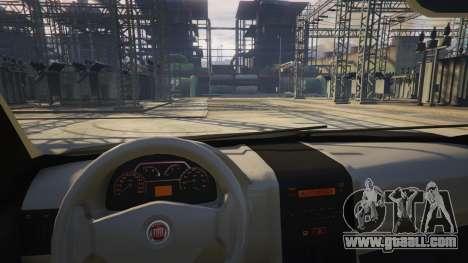 GTA 5 Fiat Palio Way Brasil 2015 right side view