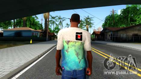 Design Galaxy T-Shirt for GTA San Andreas third screenshot