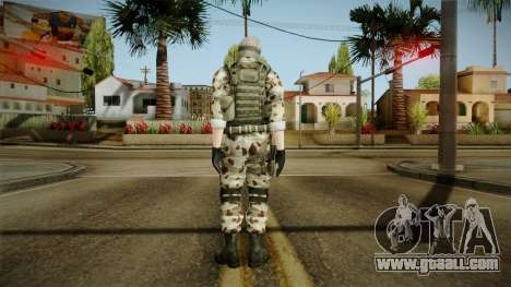 Resident Evil ORC Spec Ops v1 for GTA San Andreas third screenshot