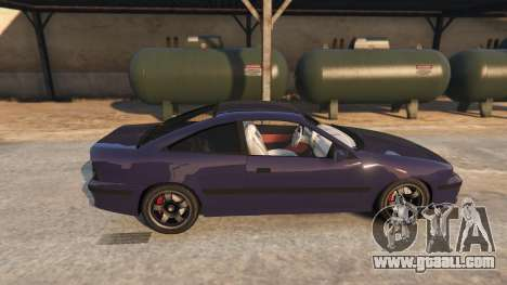 GTA 5 Opel Calibra GT v2 left side view