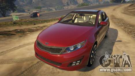 KIA Optima 2014 for GTA 5