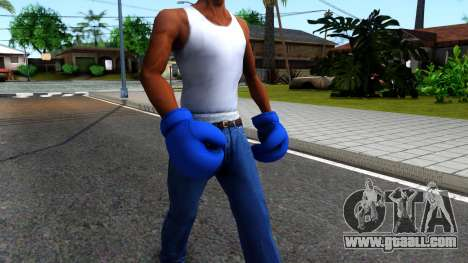 Blue Boxing Gloves Team Fortress 2 for GTA San Andreas second screenshot