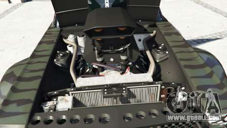 Ford Mustang 1965 Hoonicorn v1.1 [replace] for GTA 5