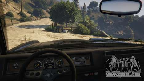 GTA 5 Glendale Station Wagon right side view