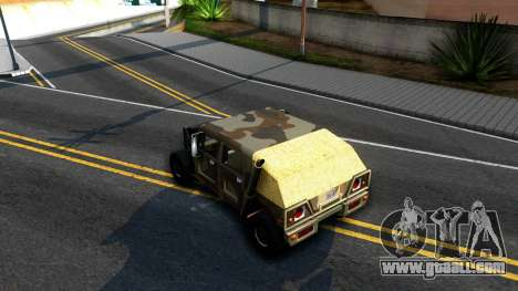 New Patriot GTA V for GTA San Andreas right view
